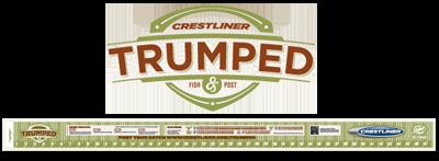 trumped ruler FREE Crestliner Trumped Fishing Ruler