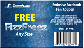 FREE Fizz Freez at at Thorntons FREE Fizz Freez Drink at Thorntons
