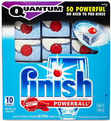 Finish Quantum Dishwashing FREE Sample Of Finish Quantum Dishwashing