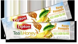Lipton Mango Pineapple FREE Sample of Lipton Mango Pineapple Tea Mix