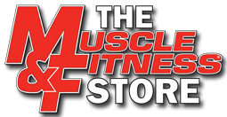 Muscle and Fitness Logo FREE Box Of Supplement Samples from Muscle and Fitness