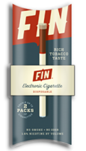 FIN Cigarette FREE FIN Electronic Cigarette