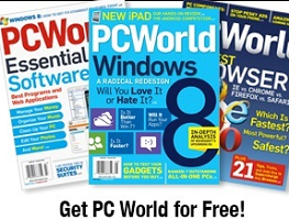 PC World Magazine FREE PC World Magazine Subscription