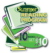 Summer Reading Program 10 for 10 FREE $10 For Kids at TD Bank For Reading Program 2012