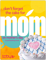 Free tcby yogurt for moms on mothers day may 13th hunt4freebies get a free tcby publicscrutiny Image collections