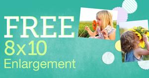 8x10 enlargement  FREE 8x10 Photo Enlargement Print at Walgreens