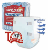 FREE Tranquility SmartCore Adult Diaper FREE Sample of Tranquility SmartCore ...
