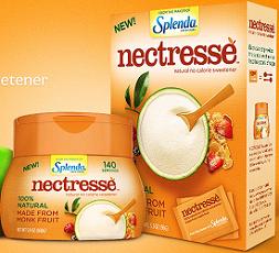 Nectresse FREE Splenda Nectresse No Calorie Sweetener Sample Pack