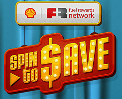 reminder when you spin the wheel for a free shell fuel rewards - How To Use Shell Fuel Rewards Card