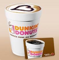 Dunkin Donuts FREE Medium Beverage at Dunkin Donuts