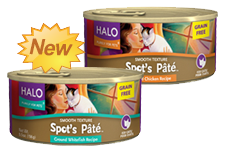 Halo Pate Cat Food FREE Can of Halo Pate for Cats or Chioce For Dogs