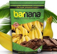 Organic Banana and Chocolate Bites FREE Organic Banana and Chocolate Bites Sample For Businesses