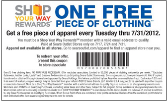 Clothing stores Clothing store printable coupons