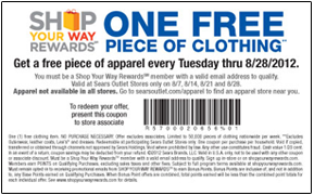 Over $100 in Sears Coupons available to print! | Coupon Karma