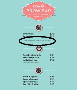 FREE Brow Arch at Ulta Beauty on Your Birthday - Hunt4Freebies