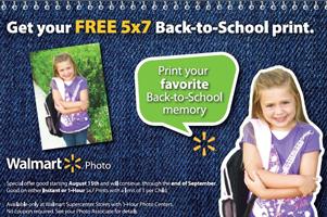 Walmart FREE 5x7 FREE 5x7 Photo Print at Walmart