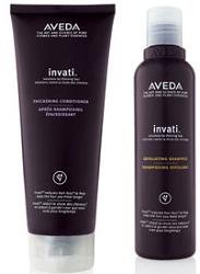Aveda Invati Shampoo and Conditioner FREE Aveda Invati Shampoo and Conditioner at Aveda Stores