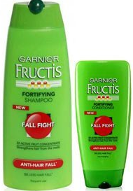 Garnier Fructis Fall Fight Shampoo and Conditioner FREE Garnier Fructis Fall Fight Shampoo and Conditioner Sample