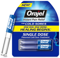 Orajel Single Dose Cold Sore Possible FREE Orajel Single Dose Cold Sore Treatment