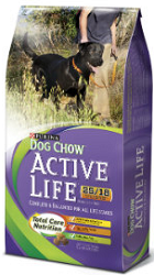 Purina Active Life Dog Chow FREE Purina Active Life Dog Chow Sample