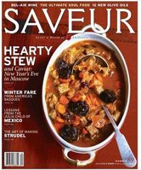 Saveur Magazine1 FREE 2 Year Subscription to Saveur Magazine