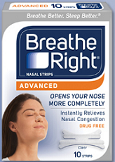 Breathe Right1 FREE Breathe Right Advanced Strips Sample