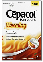 Cepacol Sensations FREE Cepacol Sensations Throat Lozenge Sample