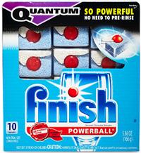 Finish Quantum Dishwashing FREE Finish Quantum Dishwashing Sample Pack