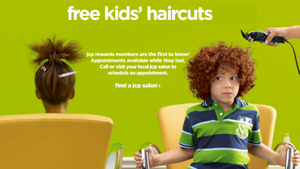 JCP Kids Hair Cuts FREE Kids Haircuts at JCPenney Every Sunday (Permanent)