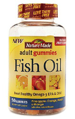Nature Made Adult Fish Oil Gummies FREE Sample of Nature Made Adult Fish Oil Gummies