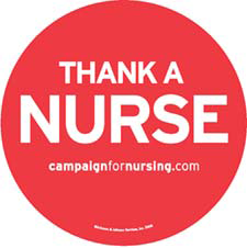 thank a nurse magnet FREE Nurse Appreciation Magnets and Coloring Book From Johnson & Johnson
