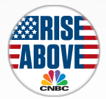 CNBC Rise Above Pin FREE CNBC Rise Above Pin