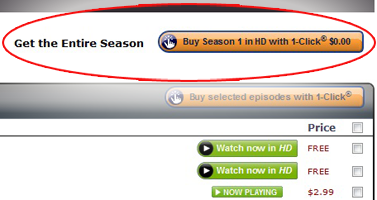 Amazon Instant Video Buy Button FREE Luther Season 2 and Copper Season 1 on Amazon Instant Video