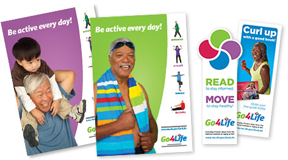 Go4Life Bookmarks and Posters FREE Go4Life Bookmarks and Posters