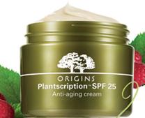 Origins New FREE Origins Plantscription SPF 25 Anti aging Face Cream