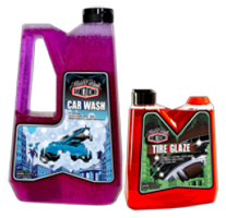 Sanctiond Car Wash and Tire Glaze  FREE Sample of Sanctiond Car Wash & Tire Glaze