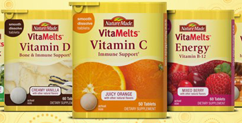 VitaMelts FREE Nature Made VitaMelts Sample