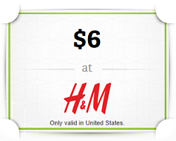 Wrapp H and M Wrapp: FREE $6 H&M Gift Card