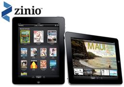 zinio pad logo FREE $50 Zinio Credit = FREE Digital Magazines