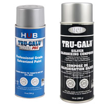 Tru Galv spray paint FREE Sampe of Tru Galv Spray Paint