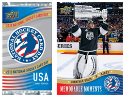 NHL Cards FREE Pack of Upper Deck NHL Cards on 2/16