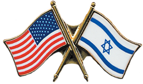 flag pin FREE U.S. Israel Flag Pin