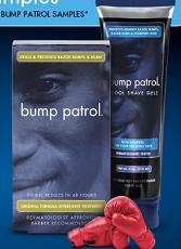 Bump Patrol Shave Treatment FREE Bump Patrol Shave Treatment Sample