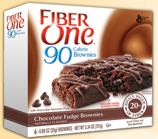 Fiber One 90 Calorie Brownies FREE Fiber One Protein Bar for Betty Crocker Members