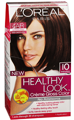 LOreal Healthy Creme Gloss Hair Color1 FREE Box Of LOreal Healthy Look Creme Product