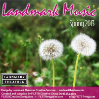 Landmark Music Spring 2013 sampler FREE Landmark Music Spring 2013 Sampler Download From Filter Magazine