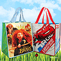 Brave-or-Cars-2-Reusable-Bag