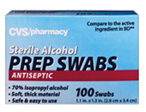 CVS Brand Alcohol Pads  FREE 100ct CVS Brand Alcohol Pads at CVS Stores