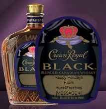 Crown Royal Gift Labels FREE Crown Royal Gift Labels