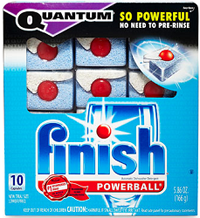 Finish Quantum Dishwashing FREE Finish Quantum with Power Gel Dishwashing Sample